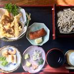 蕎鈴庵 - 天ぷら野菜付き ミニせいろ