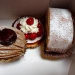 ショコラブラン - 料理写真:今回買ったケーキ達