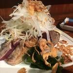 鎌倉酒店 - 「カツオのたたき」だったとおもー。