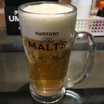 96751027 - 「生ビール」サントリーのモルツ。330円也。