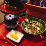 生け簀の甲羅 - 蟹雑炊・へしこ茶漬け