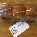 cafe まごころ米て - 高級食パン(ちぎりパン?と思うサイズ)