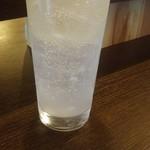 立呑 稼鶏酒場 - レモンサワー