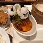 96759553 - 海老ランチ・エビチリ プリプリ&ソースシャキシャキで楽しい食感♪ 2018/11/17