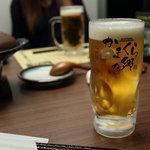 かまくらの郷 - 生ビール 312円