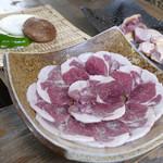 十割そば処 山獲 - 猪肉、雉肉