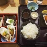 四六時中 - 料理写真:牡蠣三昧御膳