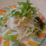 レストランカウベル - ピッツァランチのサラダ