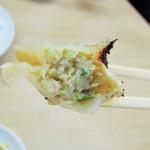 中華料理天鳳 - 餃子の餡