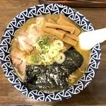 つけ麵 赤とんぼ - 煮干らーめん(780円)+極太メンマ(100円)