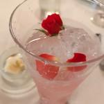 96767282 - 薔薇のノンアルコールカクテル