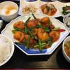 Wanfuchin - 料理写真:日替わり海鮮ランチセット 1,080円 この日の海鮮はエビチリです。