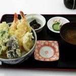 友福丸 - 海鮮天丼(期間限定メニューです)