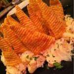 鉄串BBQ肉ロック70'S カンダーラ - とんがれ!とんがりコーン290円面白いおつまみですね。