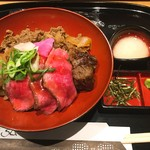 京の焼肉処 弘  - 贅沢丼 1,680円