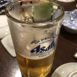 居酒屋 大漁 - 生ビールはアサヒ