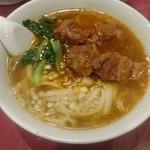 96774837 - 牛バラ刀削麺 ¥700