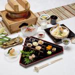 蓬莱の郷 - 料理写真:8月会席料理