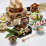 蓬莱の郷 - 料理写真:10月会席料理