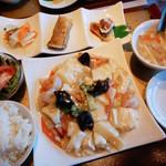 96777121 - 海鮮豆腐のランチ950円
