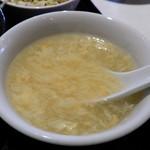 Chuukaryourikeikasarou - スープ