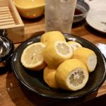 天ぷらスタンド KITSUNE - レモンタワーセット(レモン半割り8個入り)