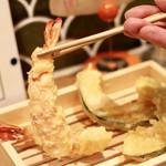 天ぷらスタンド KITSUNE - 海老リフト