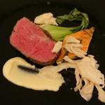 レストラン メリーミー - 牛フィレ肉のポワレ