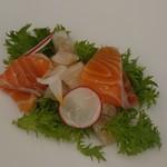 レストラン メリーミー - 魚介のマリネサラダ仕立