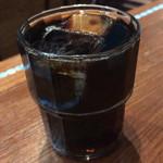 96787557 - チキンティッカビリヤニ ¥850 に付くアイスコーヒー