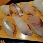 96787824 - 地魚の握り鮨2160円