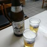満寿形屋 - 瓶ビール