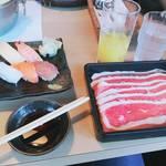 どん亭 - どん亭しゃぶしゃぶランチ膳(豚ロース)1480円
