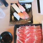 どん亭 - どん亭しゃぶしゃぶランチ膳(熟成牛ロース)1580円