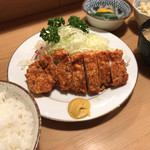 とんかつ とんき - とんき東高円寺支店(ロースカツランチ)