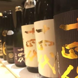 銘酒と鮨が織り成す絶妙なハーモニーとカウンターパフォーマンス