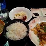 Melty - 日替わり定食(580円)酢豚