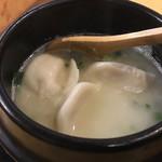 96790530 - 炊き餃子 ¥260