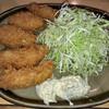 常盤 - 料理写真:カキフライ定食 900円