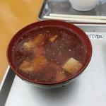 城山茶屋 - なめこ汁