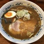 名前のない中華そば屋 - 料理写真:中華そば 醤油 麺半分 780円