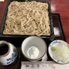 やぶ春 - 料理写真:山せいろう 1450円(山かけご飯が別で来ました)