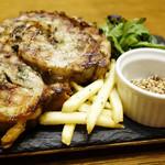 イタリア食堂nono - 豚バラ肉の香草ロースト・ポルケッタステーキ300g