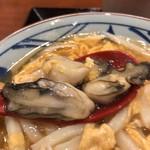 丸亀製麺 - プリプリ牡蠣いっぱい