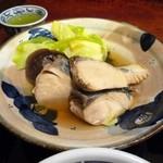 和楽庵 はなれ - 鰆と冬野菜の煮もの