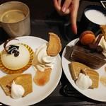 リッチフィールド - マチュアとザッハトルテのケーキセット