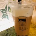 抹茶カフェ リキュウ - 2018年10月 チーズタピオカミルクティ 600円(税抜)