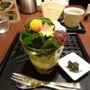 林屋茶園 - 料理写真:抹茶モンブランパフェ