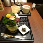 林屋茶園 - 抹茶モンブランパフェ