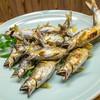 鮎や - 料理写真:鮎食べ放題 1皿目